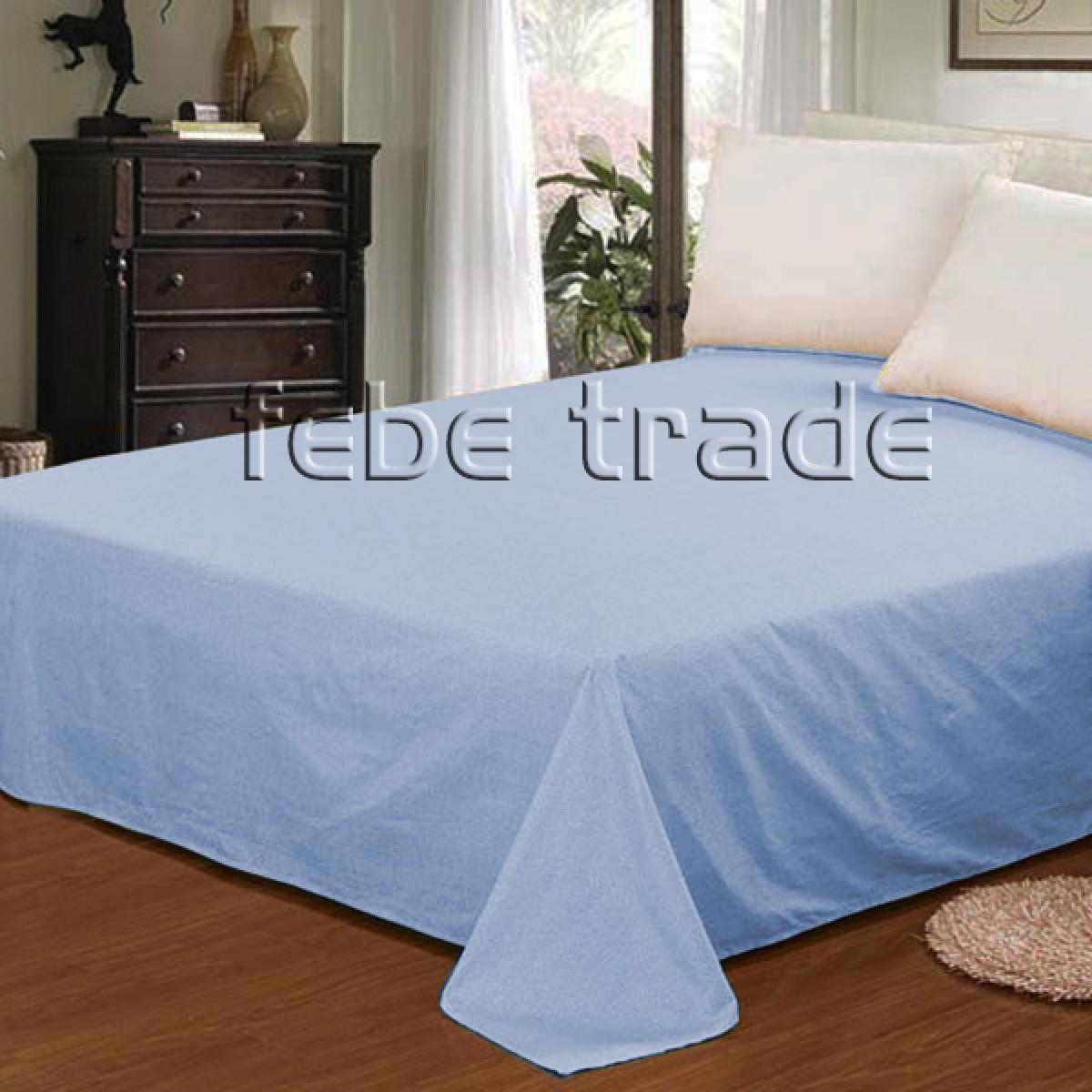 Flat sheet - 220x200 cm - mix of colors