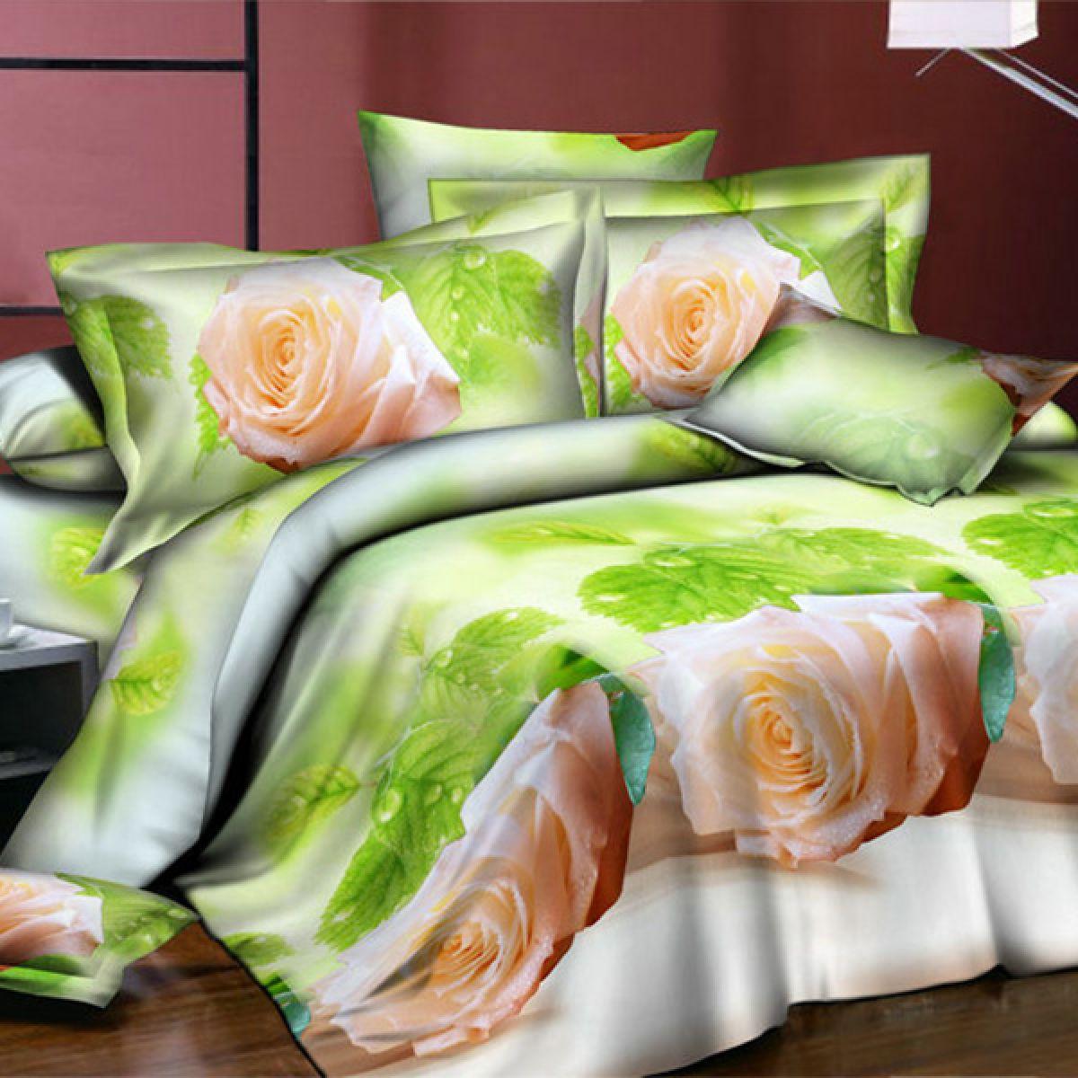 3D Beddings - Cotton World - FSC-357 - 160x200 cm - 3 pcs