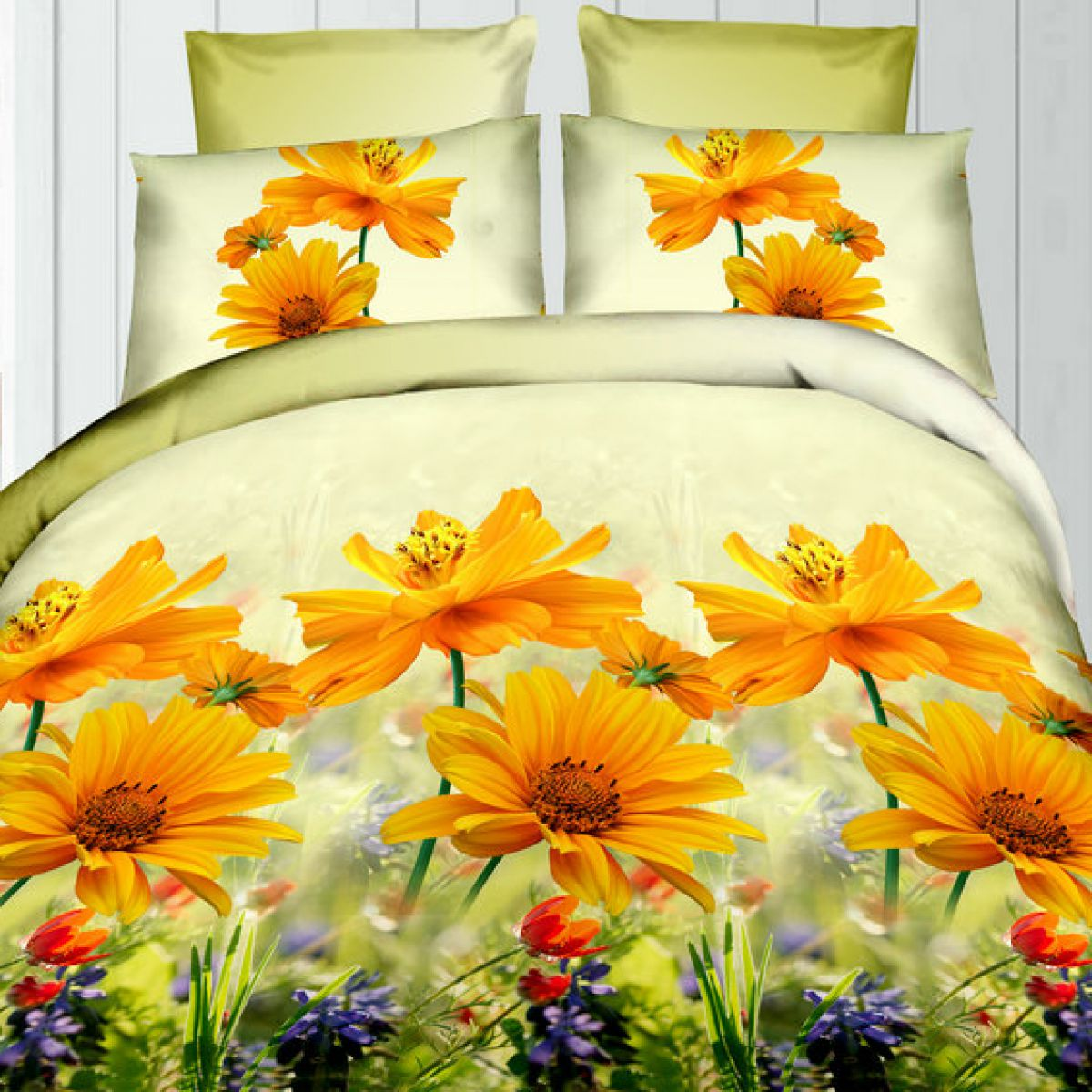 3D Beddings - Cotton World - FSC-368 - 160x200 cm - 3 pcs