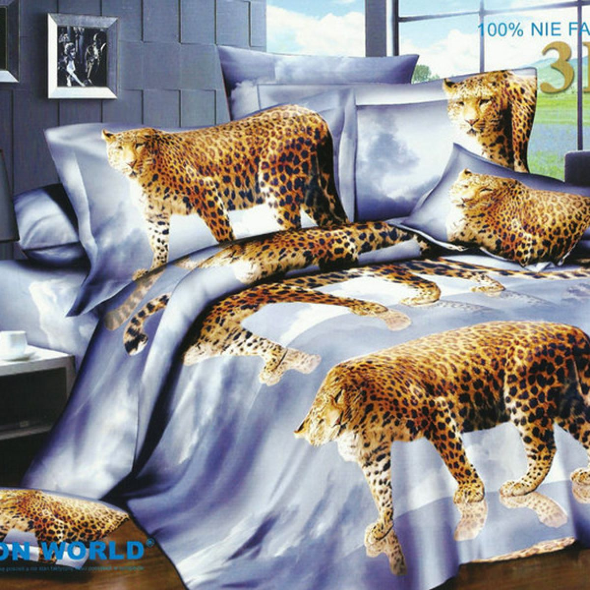 3D Beddings - Cotton World - FSP-171 - 220x200 cm - 3 pcs