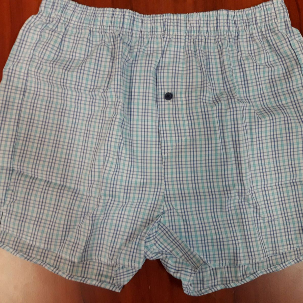 MEN'S COTTON BOXERS - REDO (001)