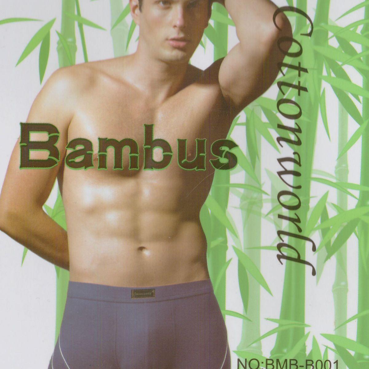 MEN'S BAMBOO BOXERS BMB - B001