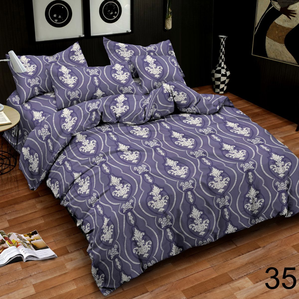 3D Beddings - Antonio - AML-355 - 160x200 cm - 4 pcs
