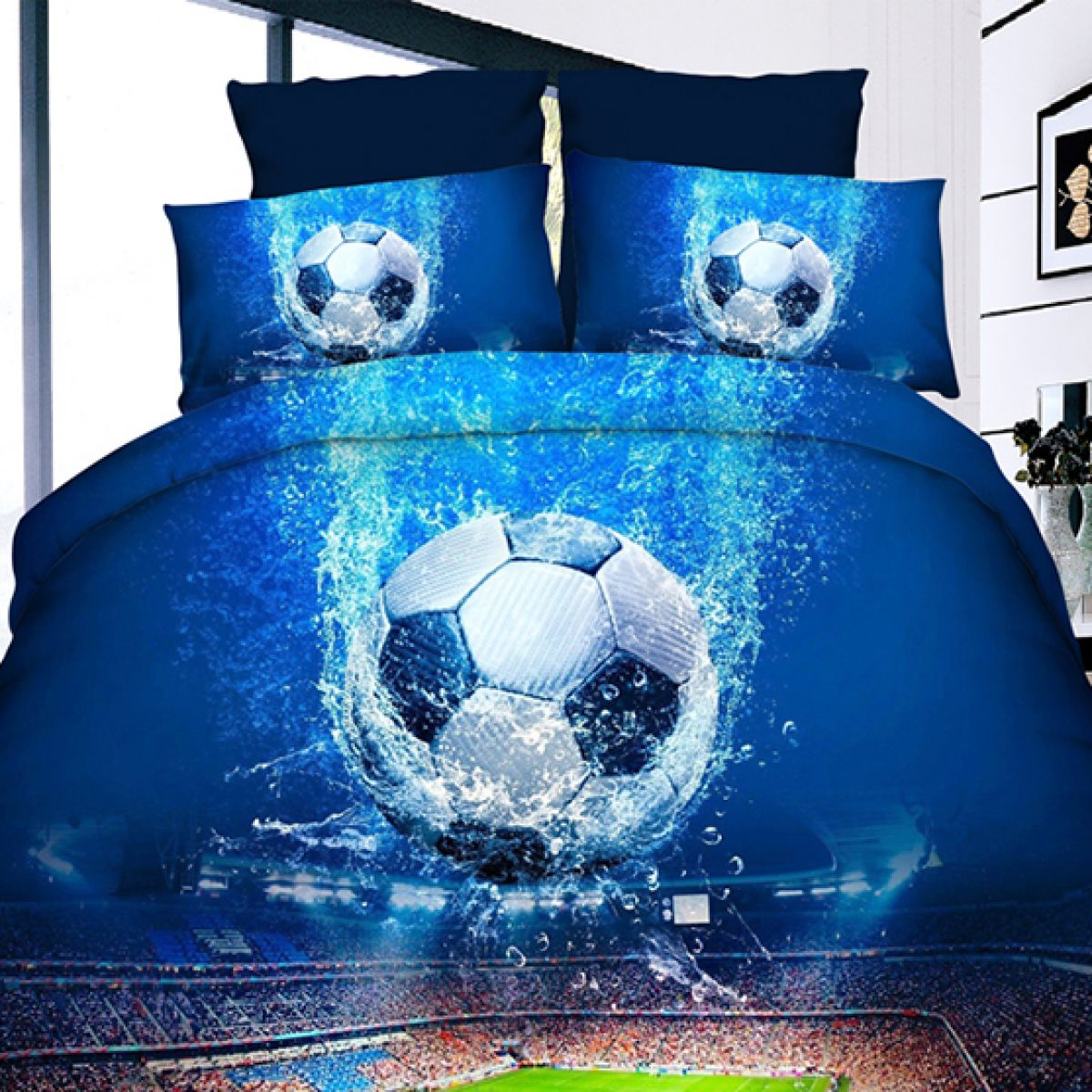 3D Beddings - Antonio - AML-121 - 160x200 cm - 4 pcs