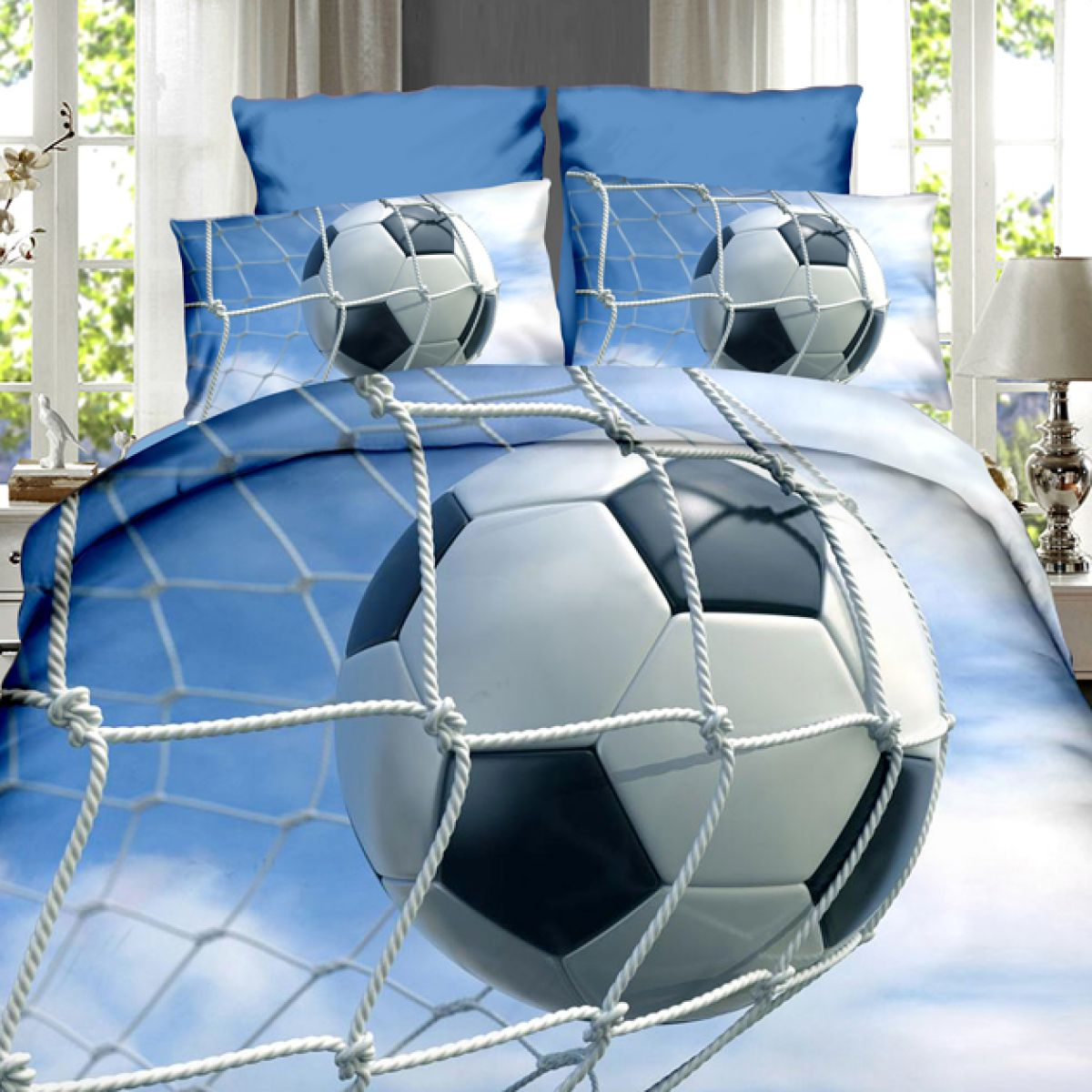 3D Beddings - Antonio - AML-47 - 160x200 cm - 4 pcs