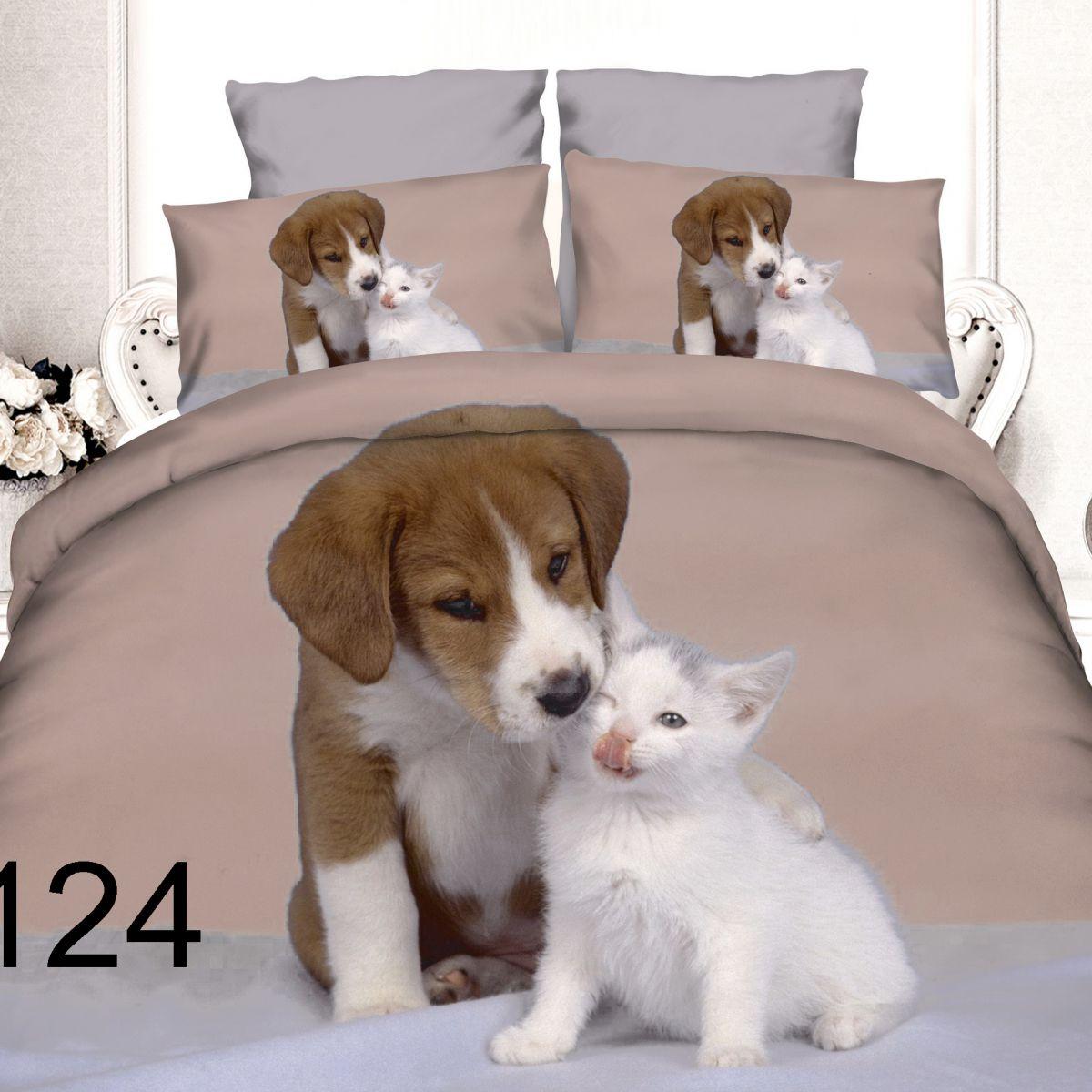 3D Beddings - Antonio - AML-124 - 160x200 cm - 4 pcs