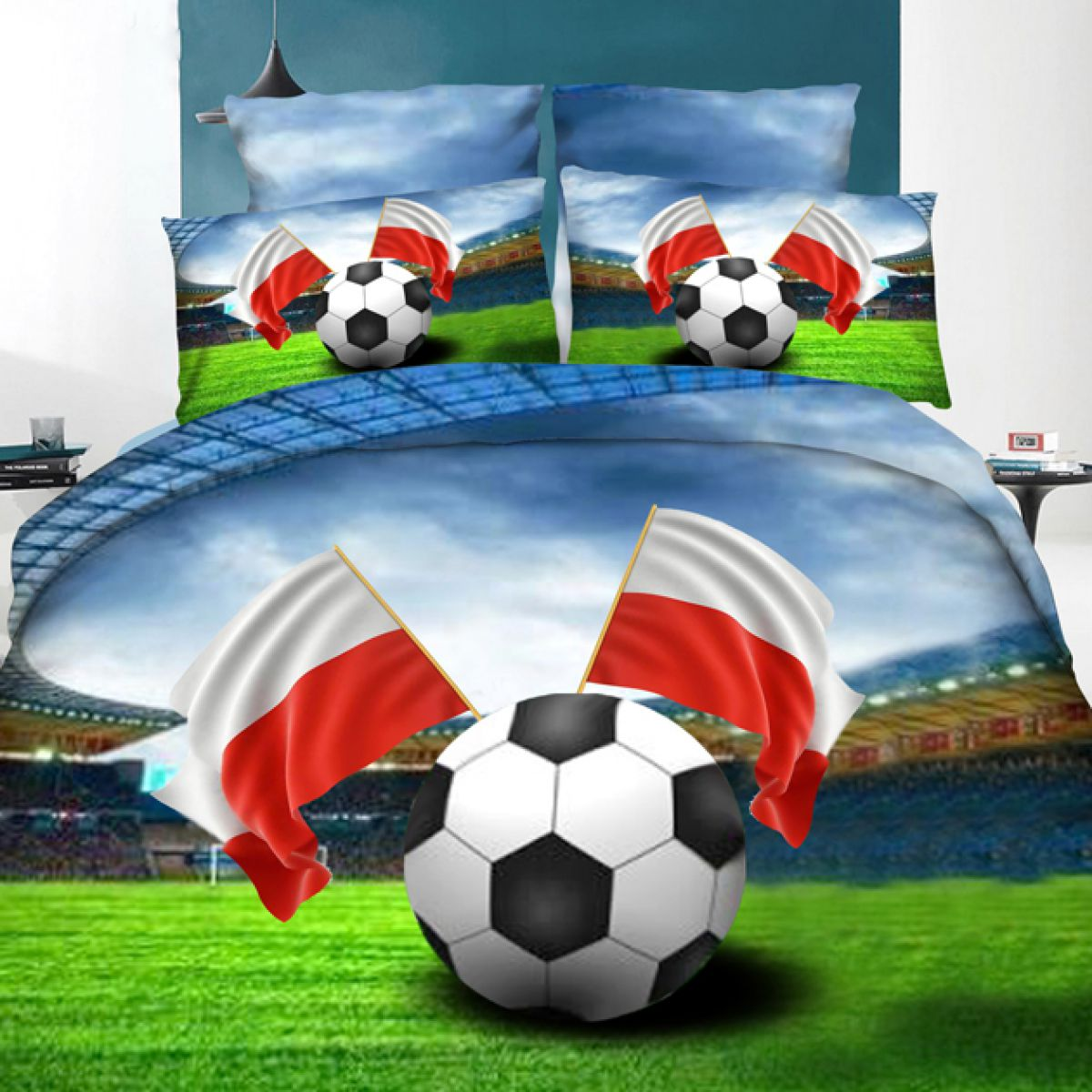 3D Beddings - Antonio - AML-302 - 160x200 cm - 4 pcs