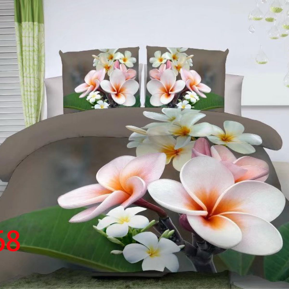 3D Beddings - Antonio - AML-368 - 160x200 cm - 4 pcs