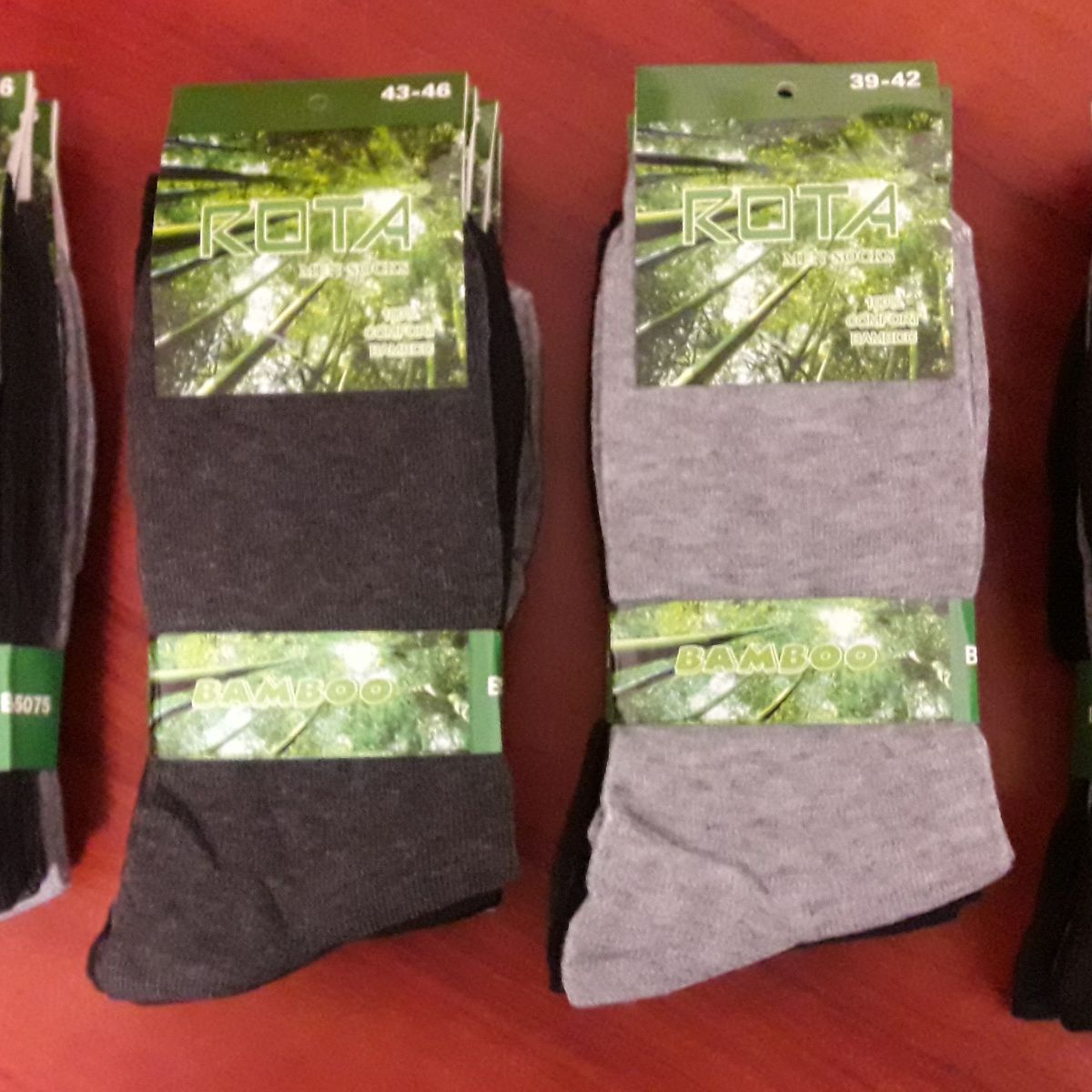 mens socks BAMBOO ROTA - B5075