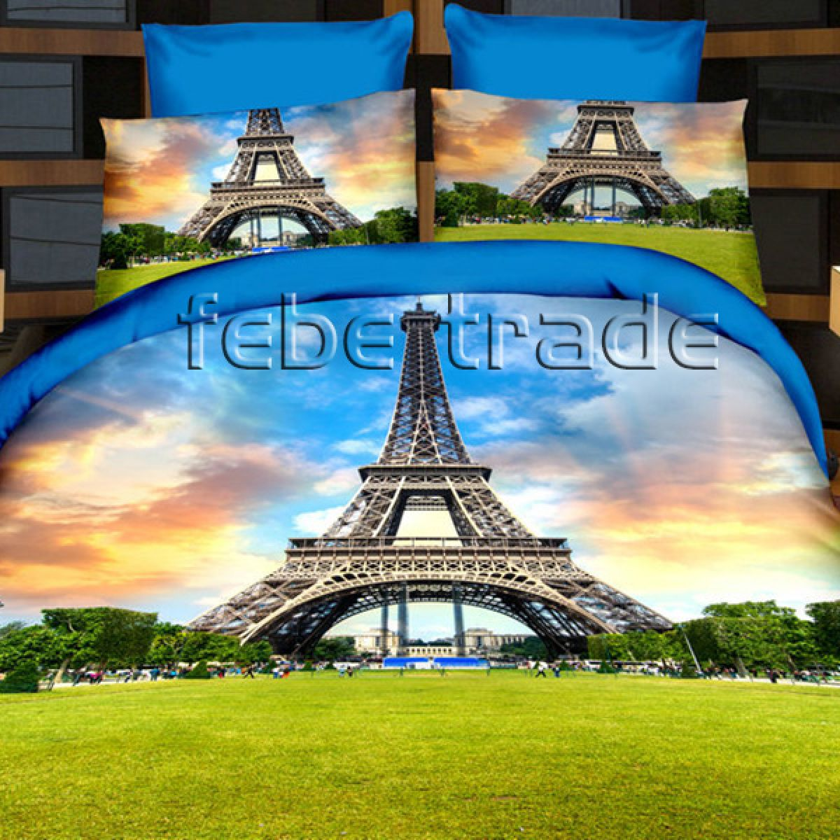 3D Beddings - Cotton World - FSH-165 - 220x200 cm - 4 cz