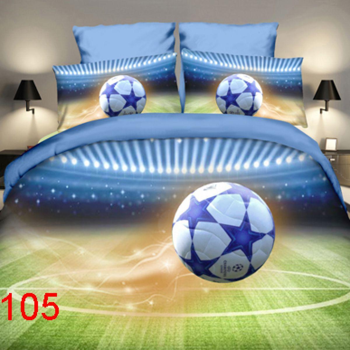 3D Beddings - Antonio - AML-105- 160x200 cm - 4 pcs