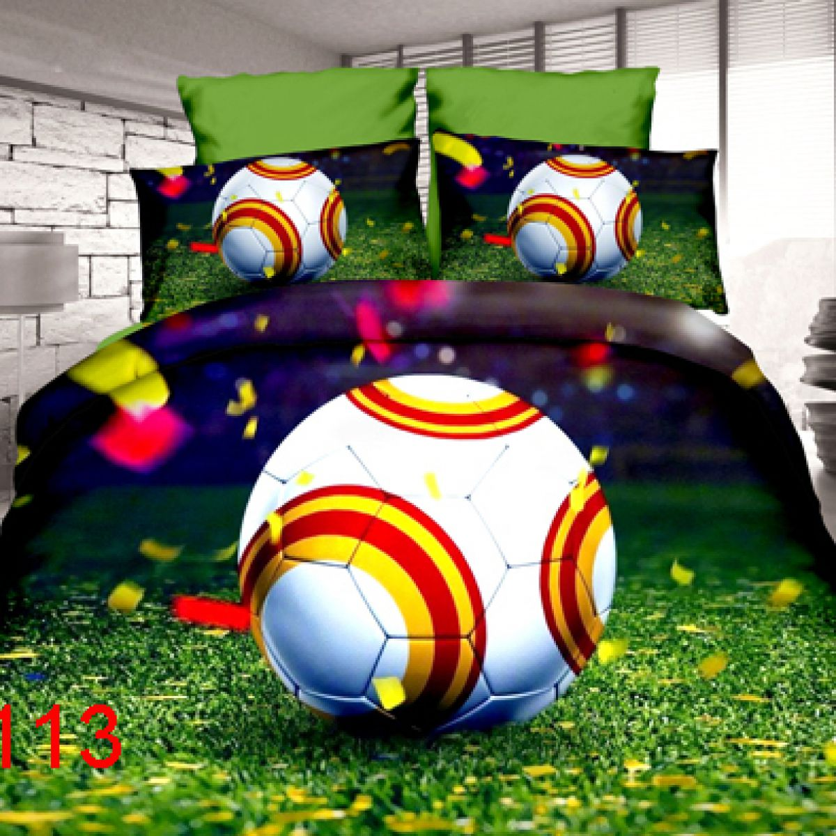 3D Beddings - Antonio - AML-113 - 160x200 cm - 4 pcs