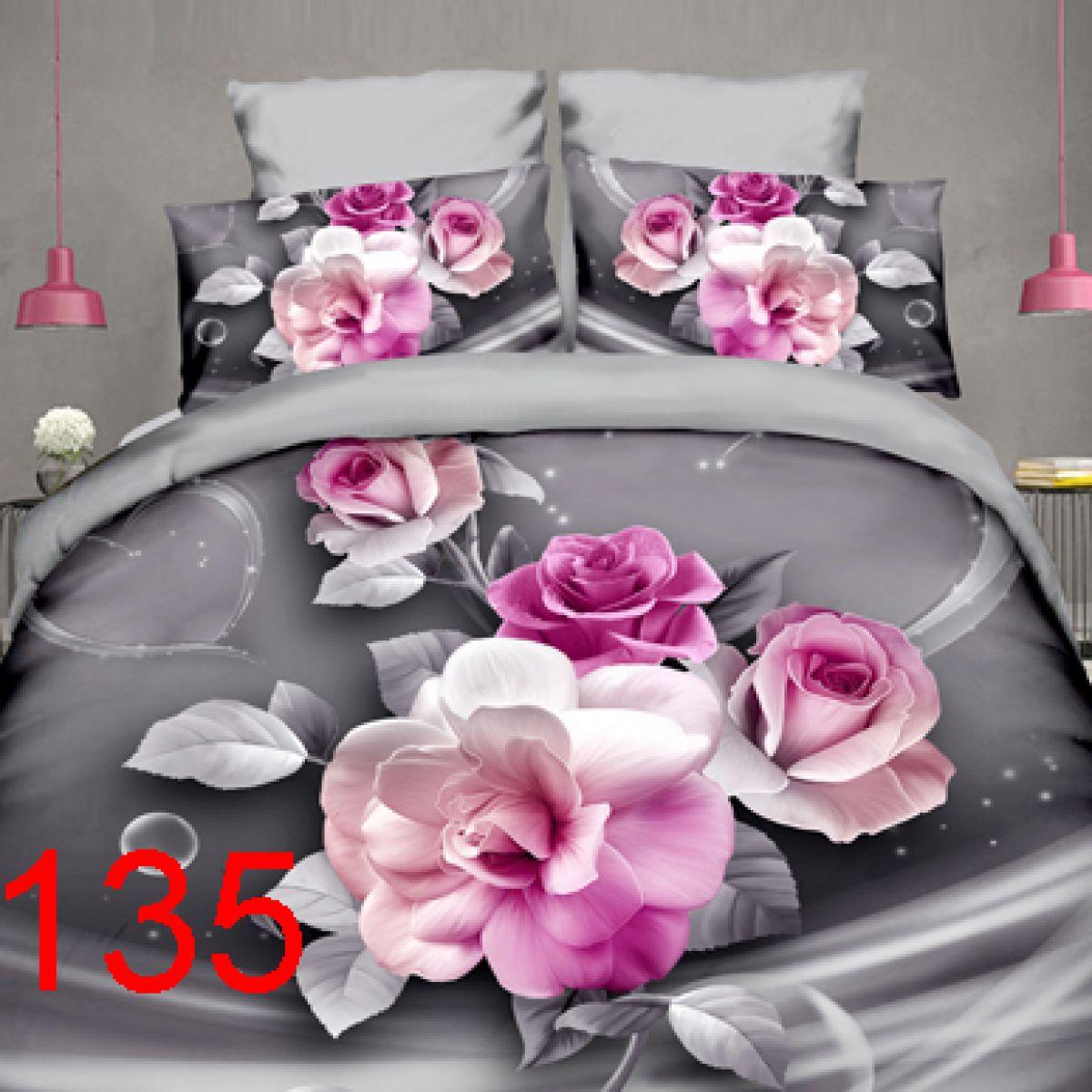 3D Beddings - Antonio - AML-135 - 160x200 cm - 4 pcs