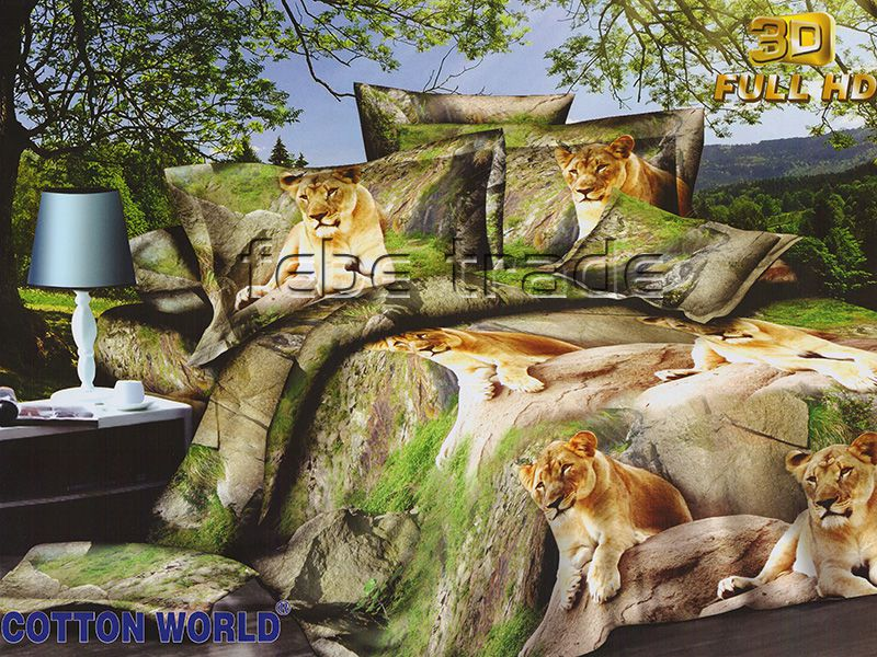 3D Beddings - Cotton World - SSH-325 - 220x200 cm - 3 cz