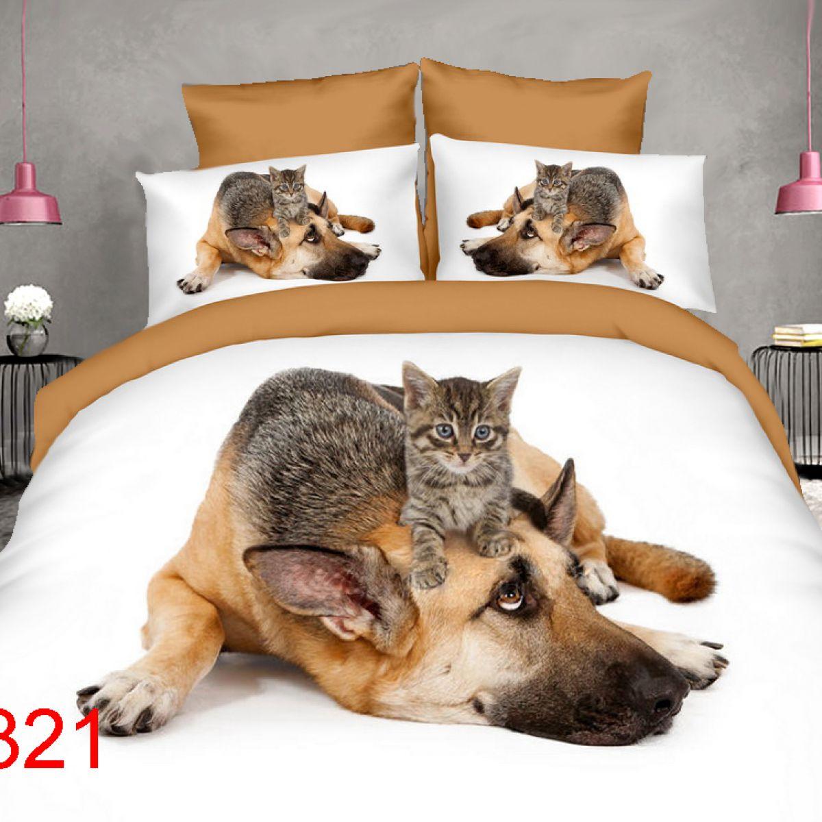 3D Beddings - Antonio - AML-321 - 160x200 cm - 4 pcs