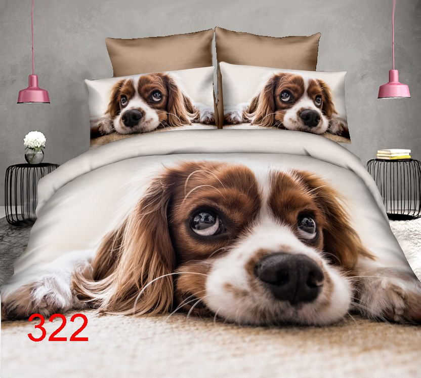 3D Beddings - Antonio - AML-322z - 160x200 cm - 4 pcs