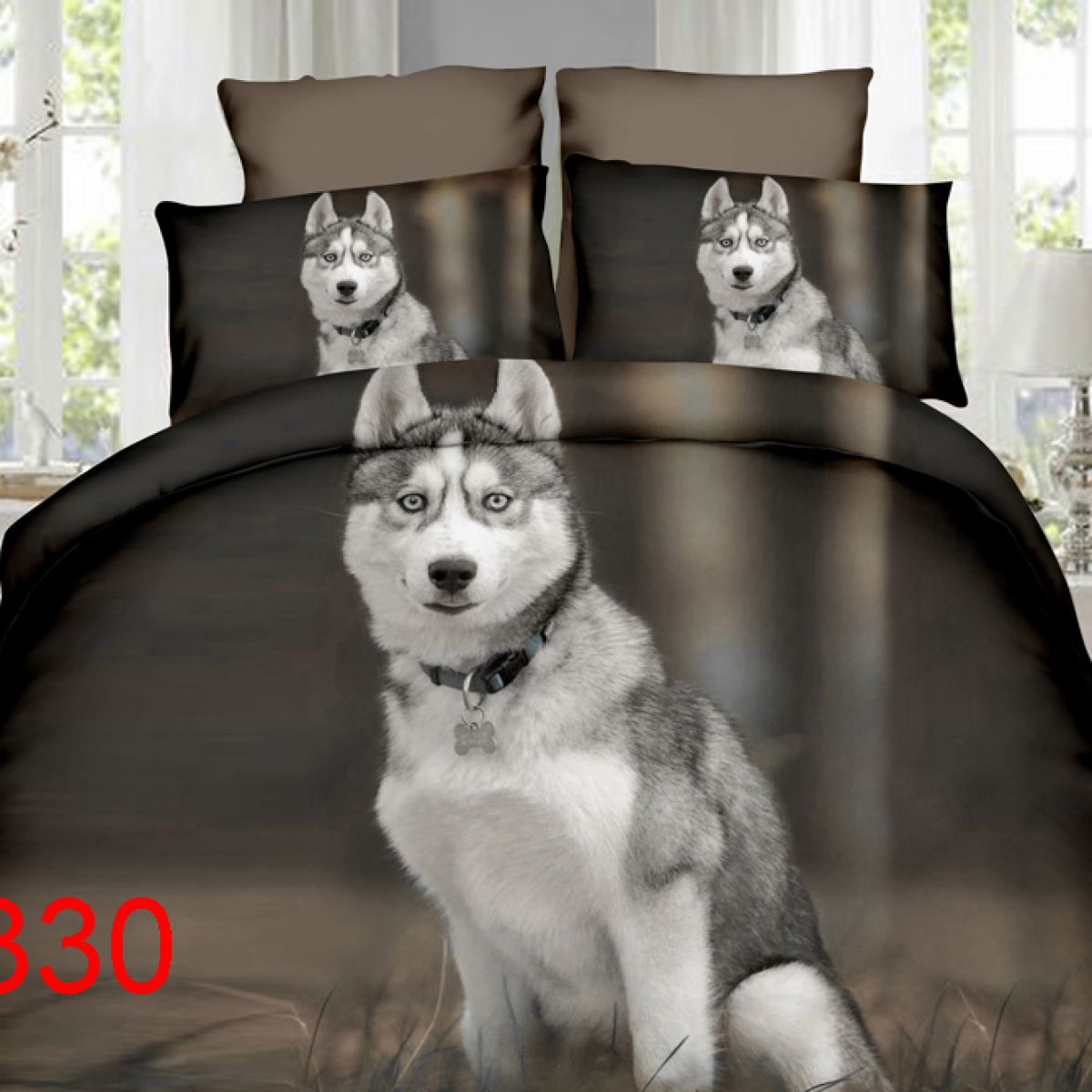 3D Beddings - Antonio - AML-330z - 160x200 cm - 4 pcs