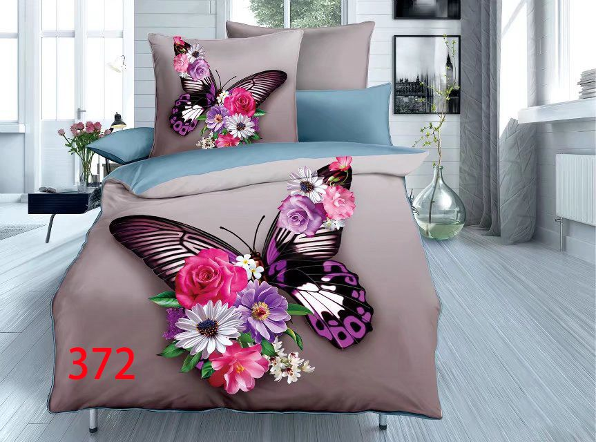 3D Beddings - Antonio - AML-372 - 160x200 cm - 4 pcs