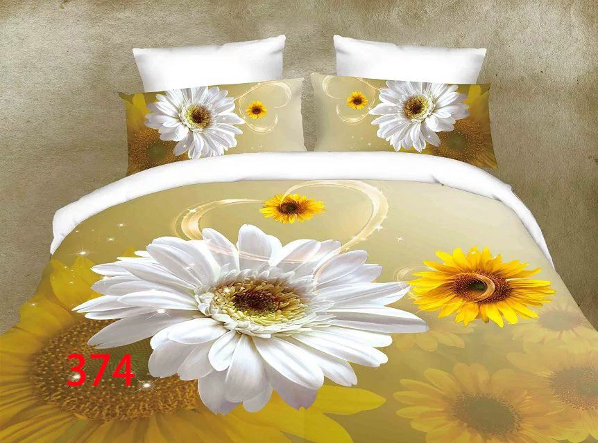 3D Beddings - Antonio - AML-374 - 160x200 cm - 4 pcs