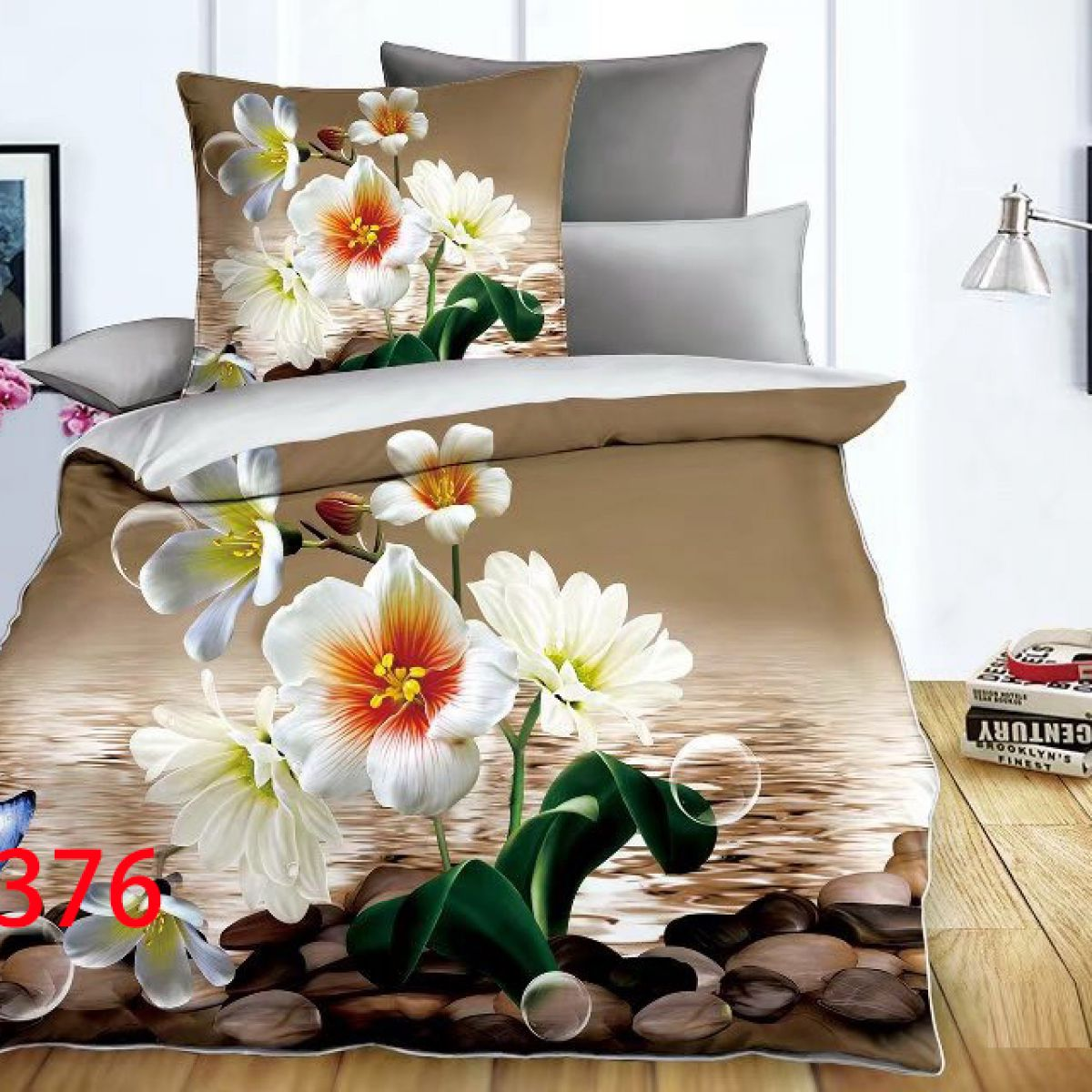 3D Beddings - Antonio - AML-376 - 160x200 cm - 4 pcs
