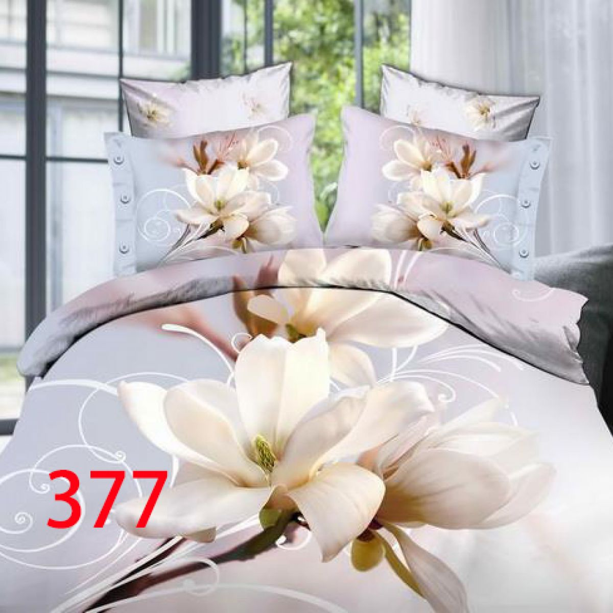 3D Beddings - Antonio - AML-377 - 160x200 cm - 4 pcs