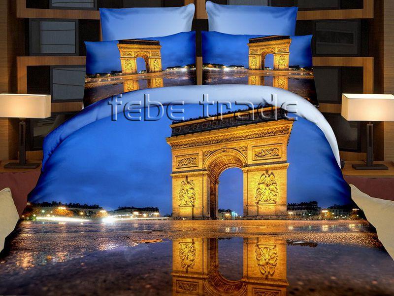 3D Beddings - Cotton World - FSH-512 - 220x200 cm - 4 pcs