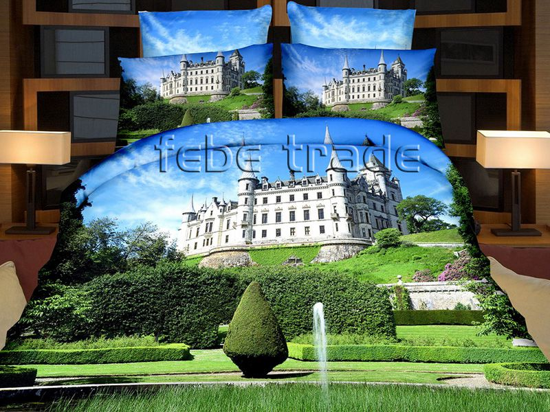 3D Beddings - Cotton World - FSH-513 - 220x200 cm - 4 pcs