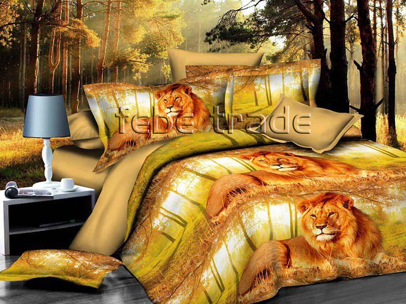 3D Beddings - Cotton World - FSH-518 - 220x200 cm - 4 pcs