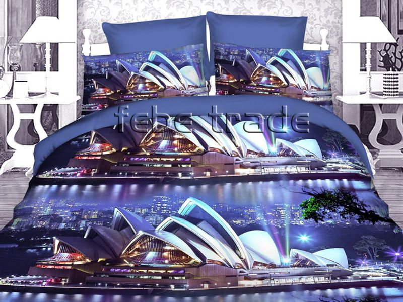 3D Beddings - Cotton World - FSH-519 - 220x200 cm - 4 pcs