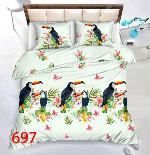 3D Beddings - Antonio - AML-4237 - 160x200 cm - 3 pcs