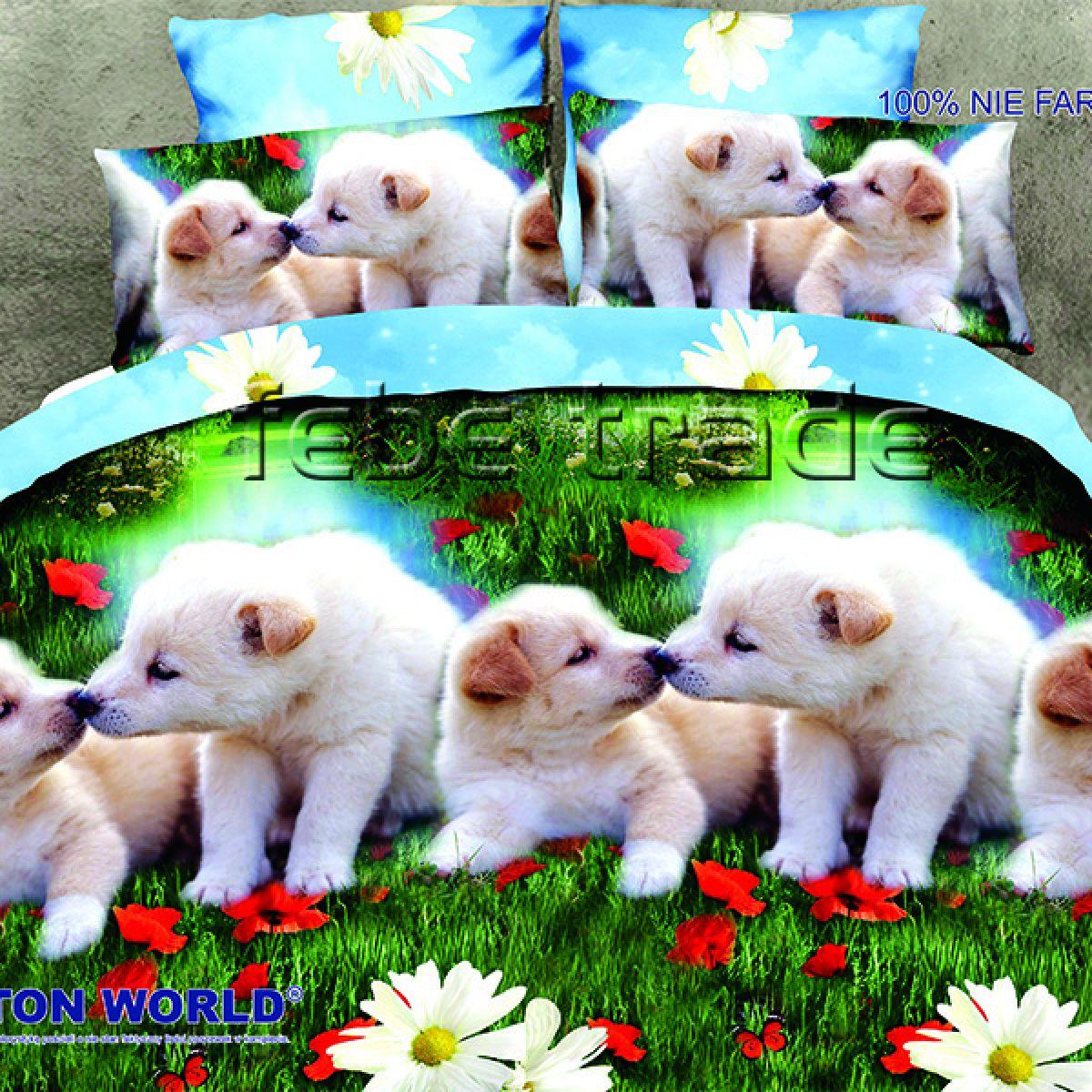 3D Beddings - Cotton World - FSC-280 - 160x200 cm - 4 pcs