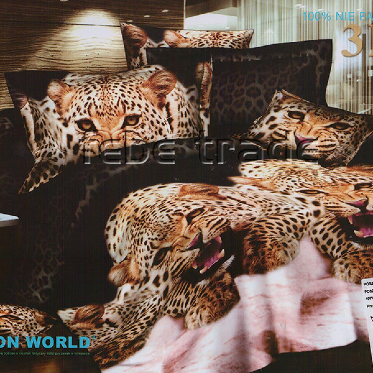 3D Beddings - Cotton World - FSP-227 - 220x200 cm - 4 pcs