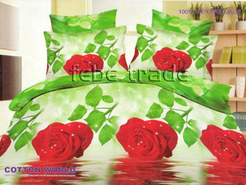 3D Beddings - Cotton World - FSP-357 - 220x200 cm - 4 pcs