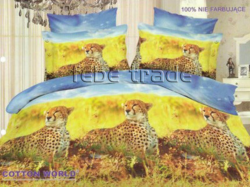 3D Beddings - Cotton World - FSP-361 - 220x200 cm - 4 pcs