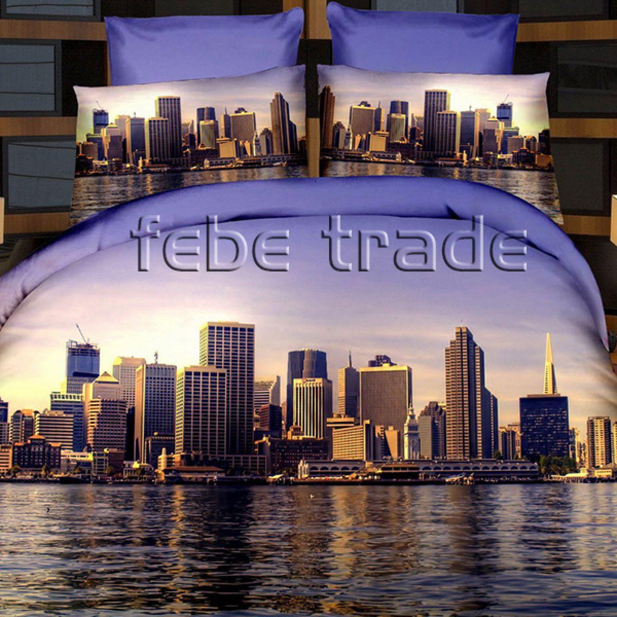 3D Beddings - Cotton World - FSP-717 - 220x200 cm - 4 pcs