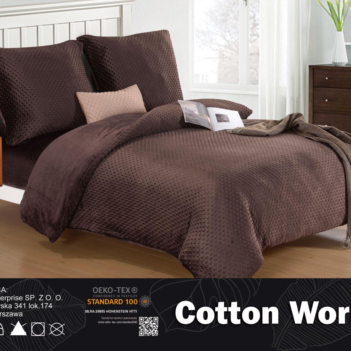 Plush Pressed Beddings - Cotton World - SHE-4701 - 160x200 cm - 3 pcs
