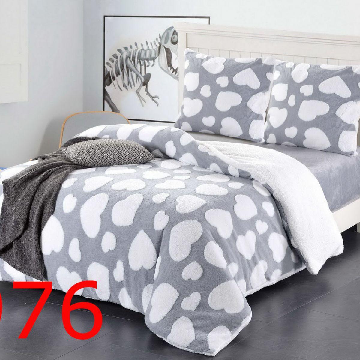 Plush Beddings - Cotton World - SHK-5201 - 220x200 cm - 3 pcs