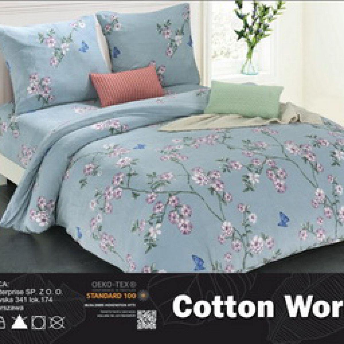 3D Plush Beddings - Cotton World - SHY-5105 - 220x200 cm - 3 pcs