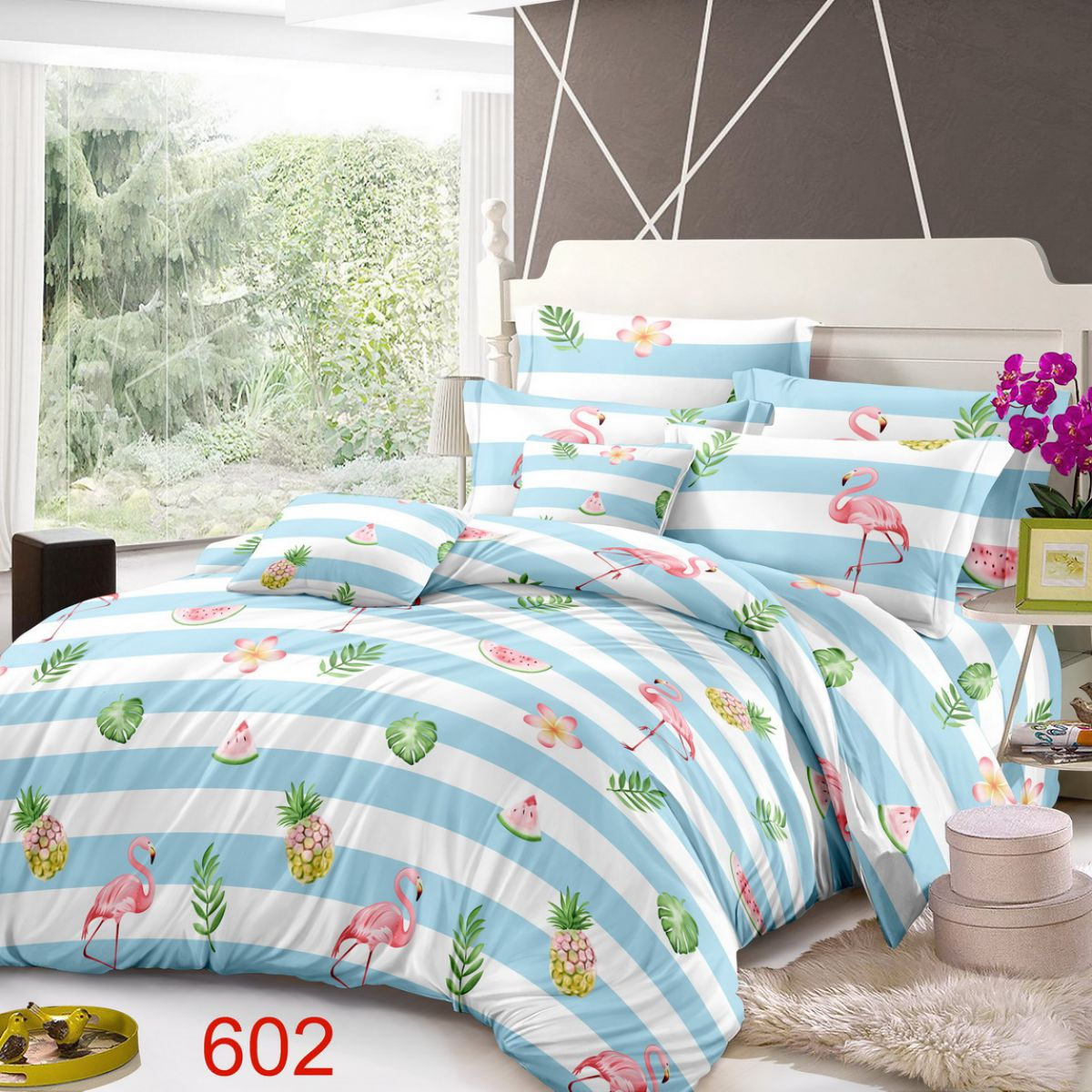 3D Beddings - Antonio - AML-4232 - 160x200 cm - 4 pcs
