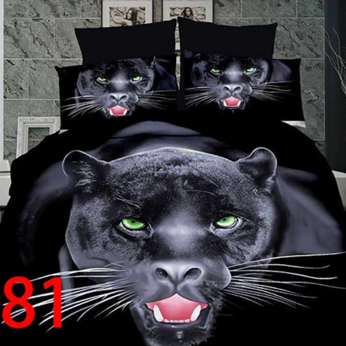 3D Beddings - Antonio - AML-4239-1 - 160x200 cm - 3 pcs