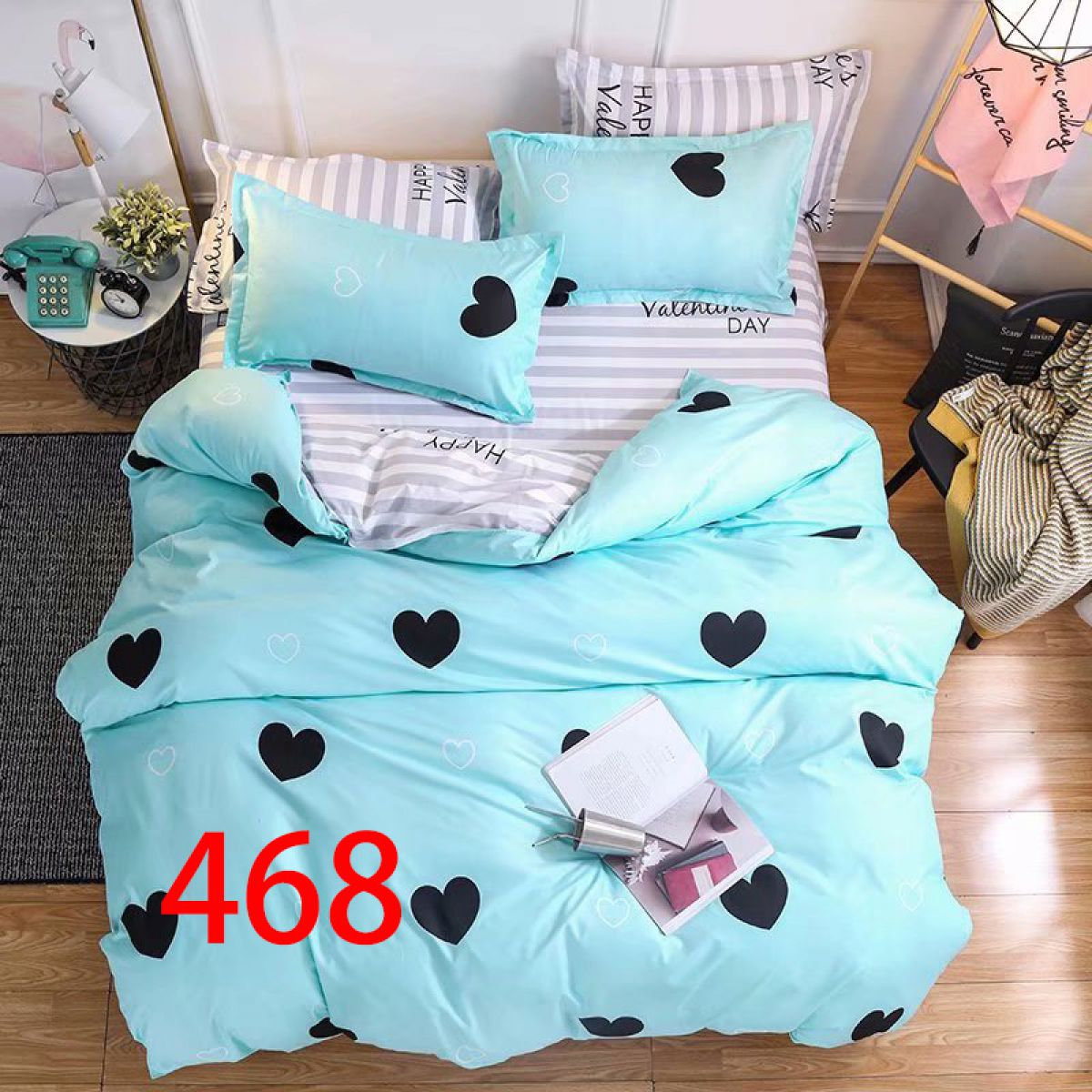 3D Beddings - Antonio - AML-4248 - 160x200 cm - 3 pcs