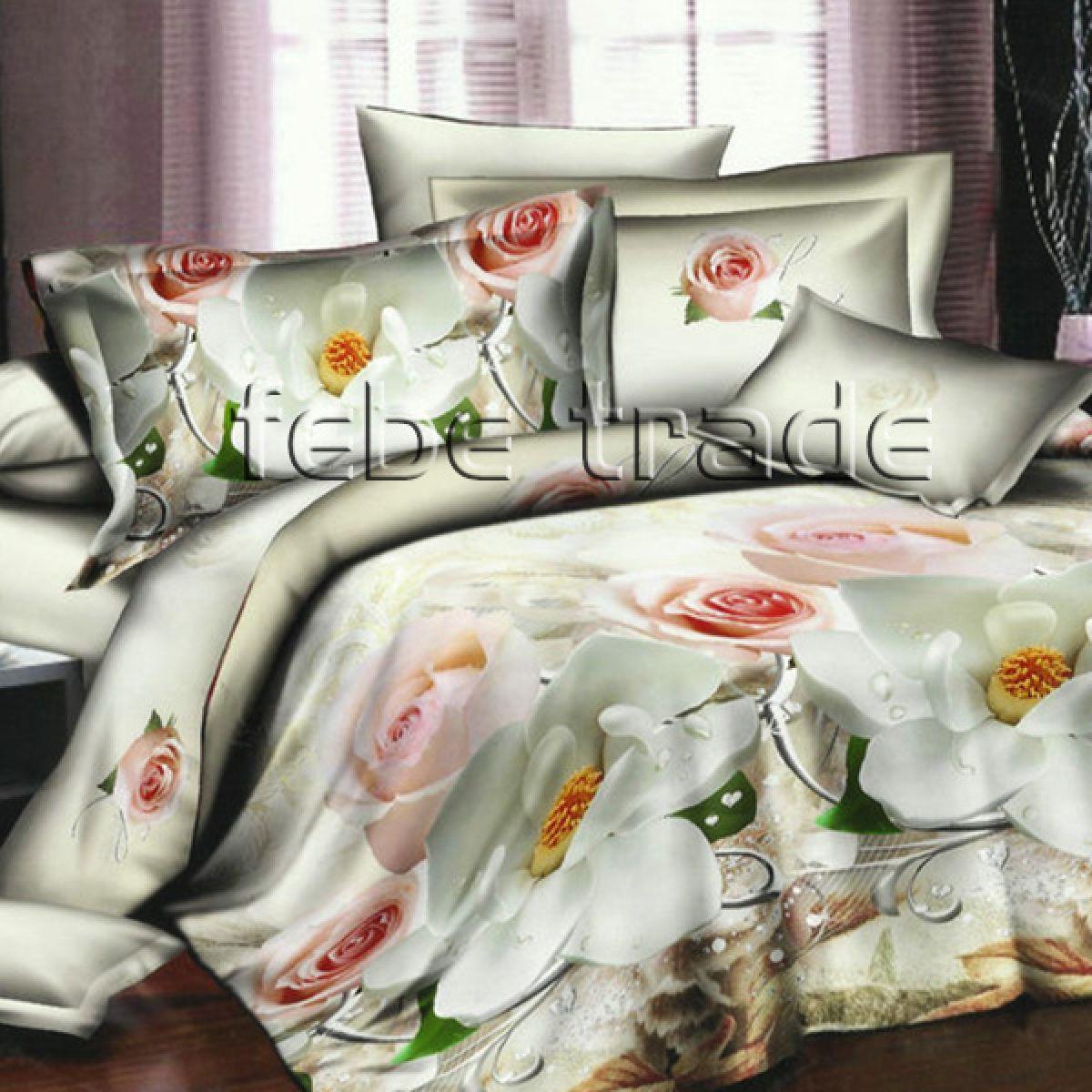 3D Beddings - Cotton World - FSB-225 - 180x200 cm - 4 pcs