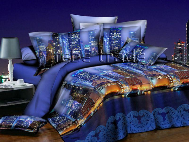 3D Beddings - Cotton World - FSB-228 - 220x200 cm - 4 pcs