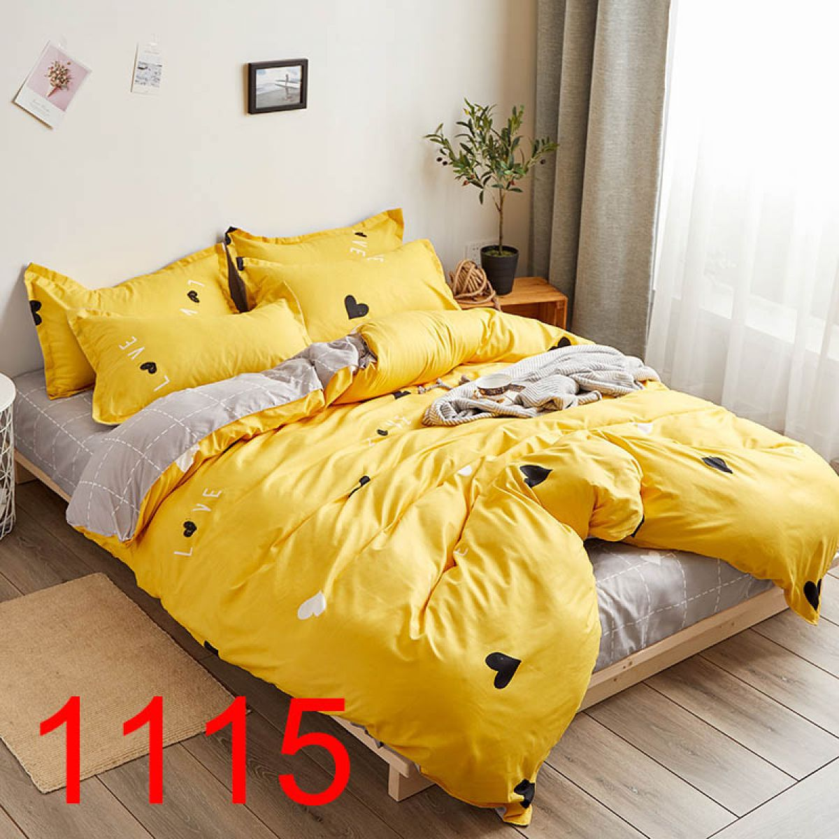 Double-sided Beddings - FBC-8055 - 220x200 cm - 3 pcs