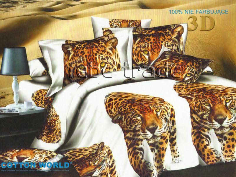 3D Beddings - Cotton World - FSB-234 - 180x200 cm - 4 pcs