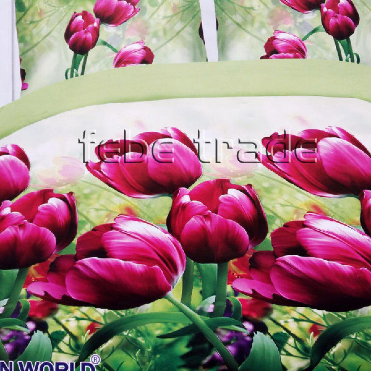 3D Beddings - Cotton World - FSB-406 - 180x200 cm - 4 pcs