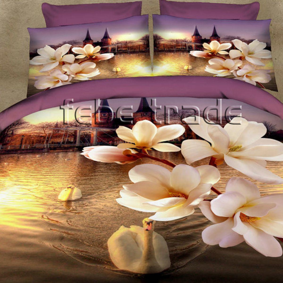 3D Beddings - Cotton World - FSB-408 - 180x200 cm - 4 pcs