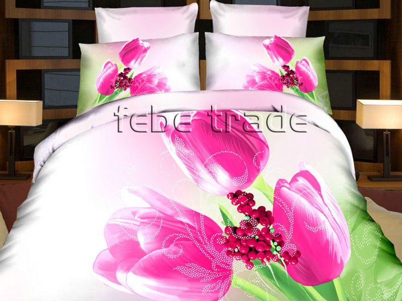 3D Beddings - Cotton World - FST-303 - 220x200 cm - 4 pcs