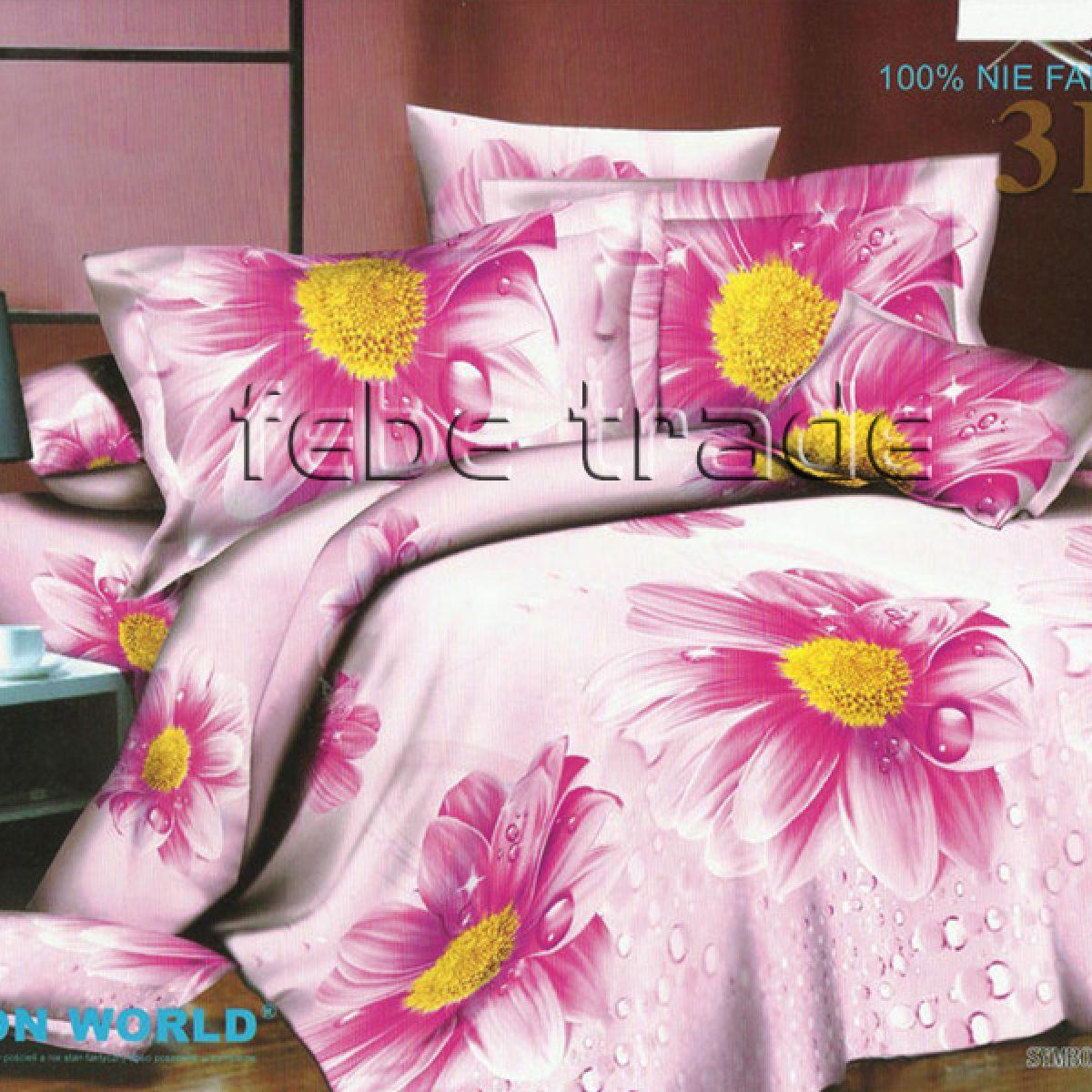 3D Beddings - Cotton World - FST-305 - 220x200 cm - 4 pcs
