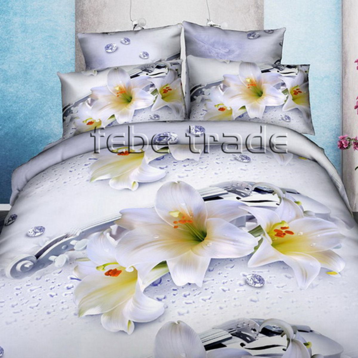 3D Beddings - Cotton World - FST-1712 - 180x200 cm - 3 pcs